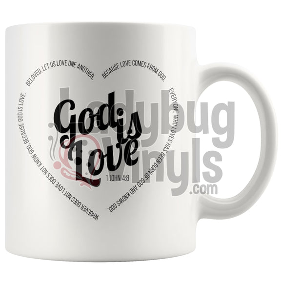 God Is Love 11Oz Coffee Mug Drinkware