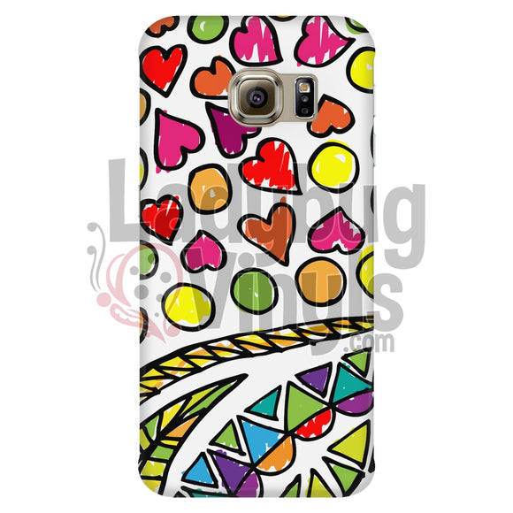 Hand-Drawn Abstract Phone Case Galaxy S6 Edge Cases