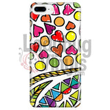 Hand-drawn Abstract Phone Case - LadybugVinyls