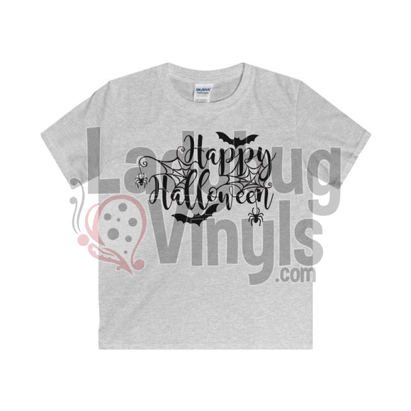 Happy Halloween Kids T-Shirt Sport Grey / L Clothes