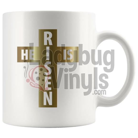 He Is Risen 11Oz Coffee Mug Drinkware
