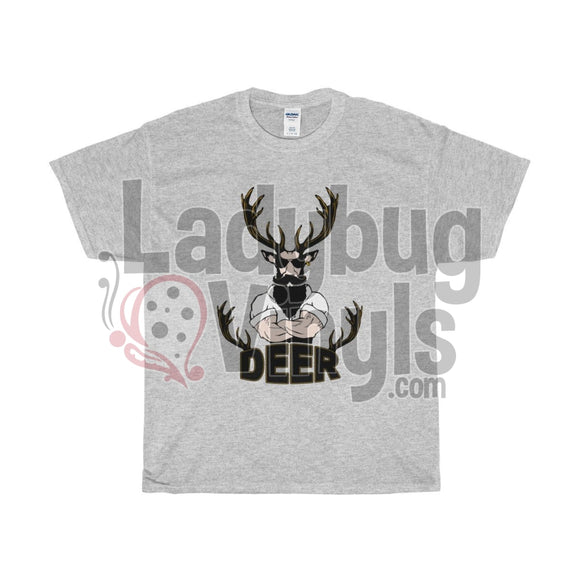 Hipster Deer Men's T-Shirt - LadybugVinyls