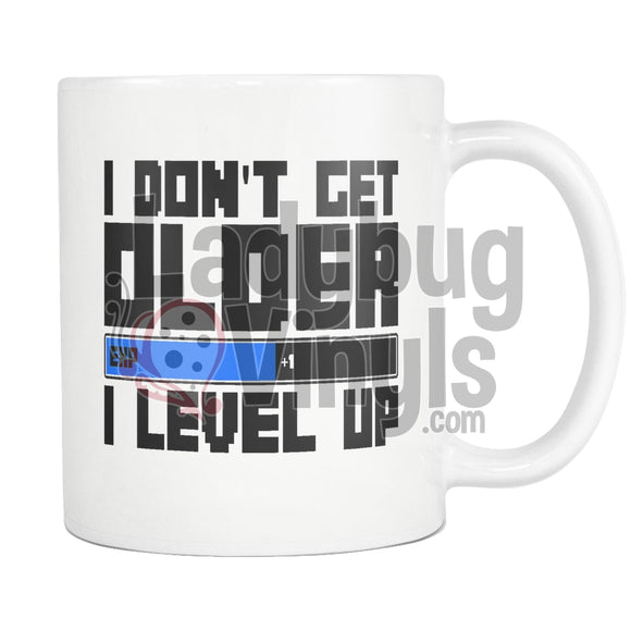 I Don't Get Older, I Level Up Coffee Mug - LadybugVinyls