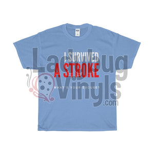 I Survived A Stroke, What's Your Excuse? Men's T-Shirt - LadybugVinyls