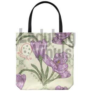 Iris Tote Bag - LadybugVinyls