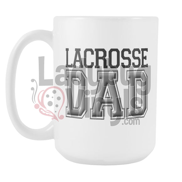 Lacrosse Parents 15oz Coffee Mug - LadybugVinyls