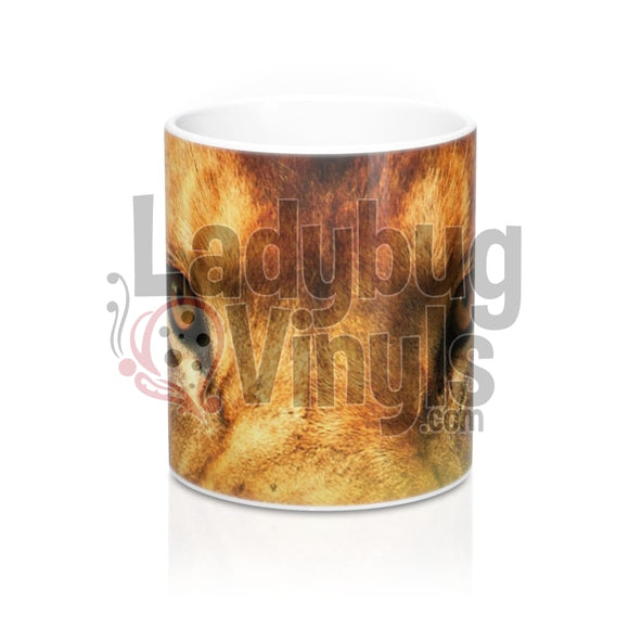 Lion Eyes All Over Print 11Oz Coffee Mug