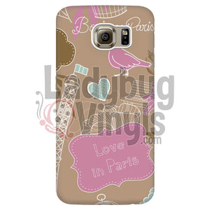 Love In Paris Phone Case - LadybugVinyls