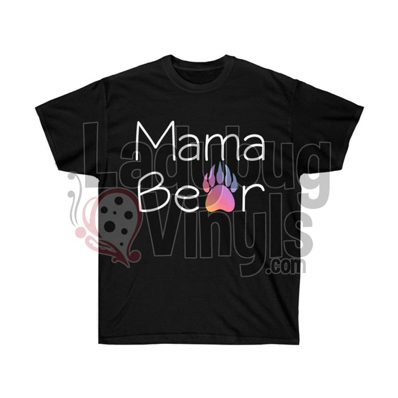 Mama Bear Ultra Cotton T-Shirt - LadybugVinyls