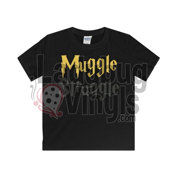 Muggle Struggle Kids T-Shirt Black / Xs Clothes
