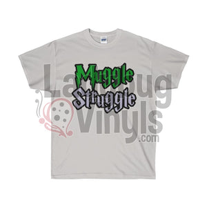 Muggle Struggle Slytherin  Ultra Cotton T-Shirt - LadybugVinyls