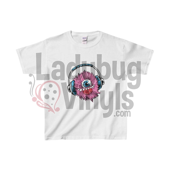 Music Monster Kids Heavy Cotton™ Tee - LadybugVinyls