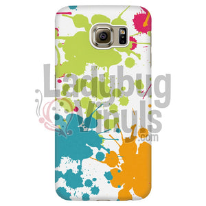 Paint Splatter Phone Case Galaxy S6 Edge Cases