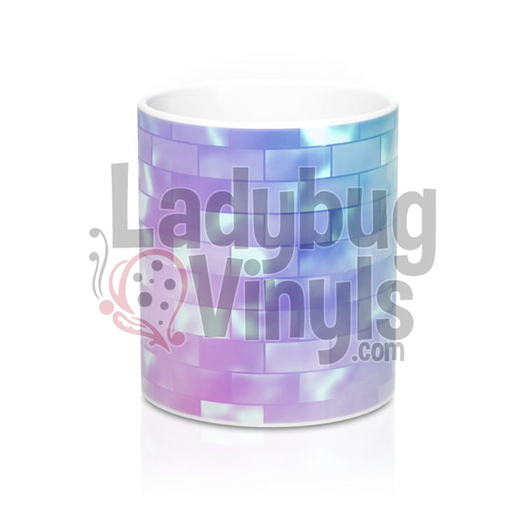 Pastel Bricks All Over Print 11Oz Coffee Mug