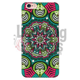 Pink And Green Mandala Phone Case Iphone 6 Plus/6S Plus Cases