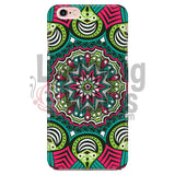 Pink And Green Mandala Phone Case Iphone 6/6S Cases