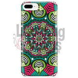 Pink And Green Mandala Phone Case Iphone 7 Plus/7S Plus Cases