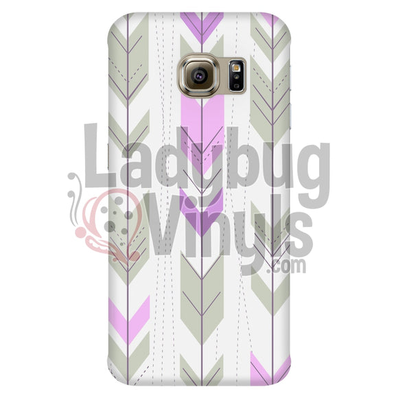 Pink And Grey Arrow Phone Case Galaxy S6 Edge Cases