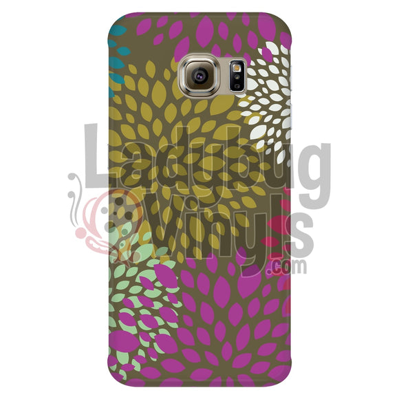 Pink Green Puff Phone Case Galaxy S6 Edge Cases