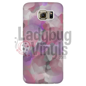 Pink Purple And Grey Watercolor Phone Case Galaxy S6 Edge Cases