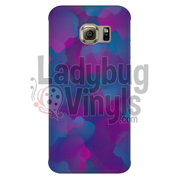 Pink Teal Watercolor Phone Case Galaxy S6 Edge Cases