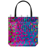 Pixel Tote Bag - LadybugVinyls