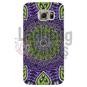 Purple and Green Mandala Phone Case - LadybugVinyls