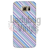 Purple Blue Stripe Phone Case Galaxy S6 Cases