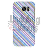 Purple Blue Stripe Phone Case Galaxy S7 Cases