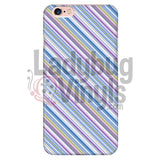 Purple Blue Stripe Phone Case Iphone 6 Plus/6S Plus Cases