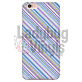 Purple Blue Stripe Phone Case Iphone 7/7S Cases