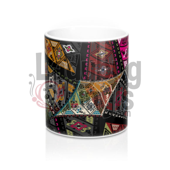 Quilted Mandala All Over Print 11Oz Coffee Mug