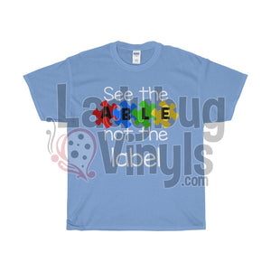 See The Able Not The Label Men's T-Shirt - LadybugVinyls