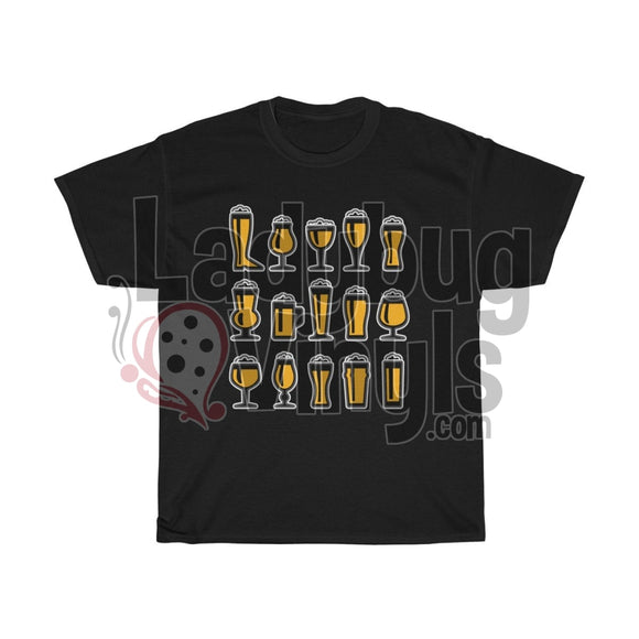 Shirt Of Many Beers Mens T-Shirt Black / L