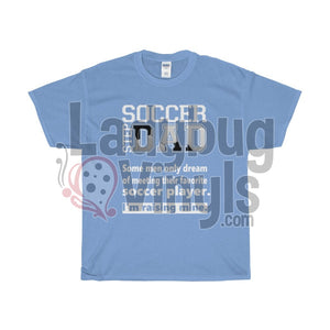 Soccer Step Dad Dream Men's T-Shirt - LadybugVinyls