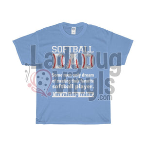 Softball Dad Dream Men's T-Shirt - LadybugVinyls