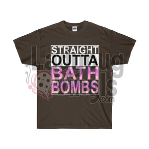 Straight Outta Bath Bombs Ultra Cotton T-Shirt - LadybugVinyls