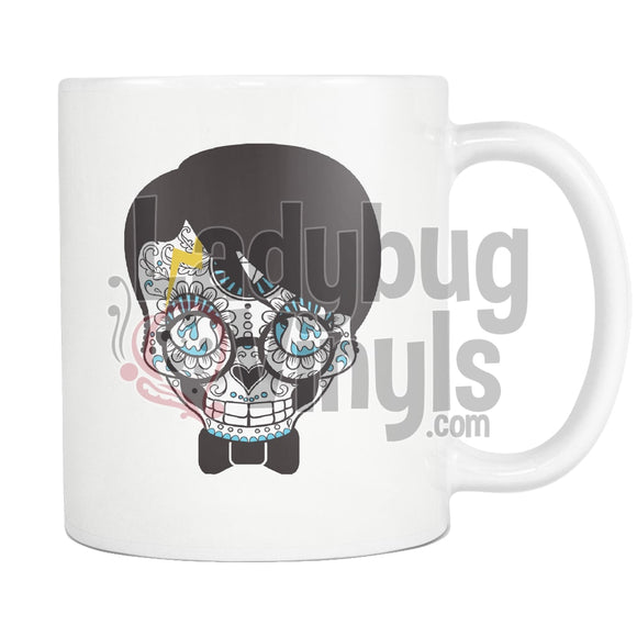 Sugar Skull Mug Potter Drinkware