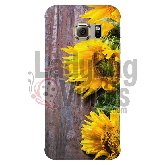 Sunflower Phone Case Galaxy S6 Edge Cases