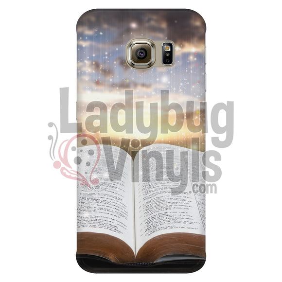 Sunset Bible Phone Case Galaxy S6 Edge Cases