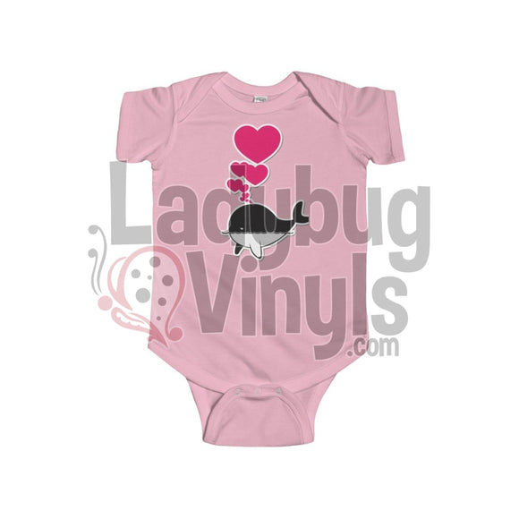 Train Love Onesie 6-12M / Pink Kids Clothes