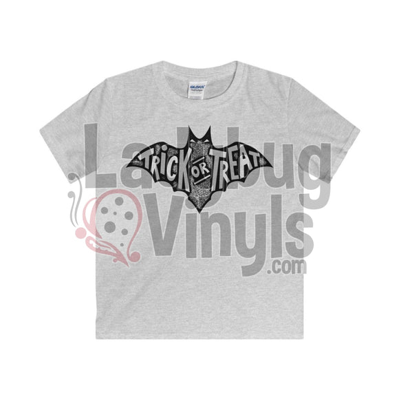 Trick Or Treat Kids T-Shirt Sport Grey / L Clothes