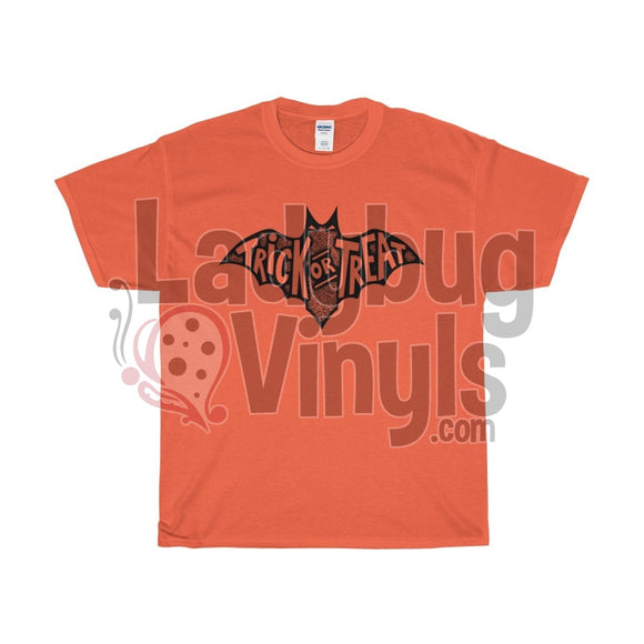Trick Or Treat Mens T-Shirt Orange / L