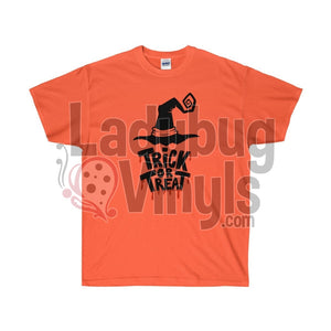 Trick Or Treat Ultra Cotton T-Shirt - LadybugVinyls
