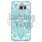 Turquoise Mandala Phone Case Galaxy S6 Cases