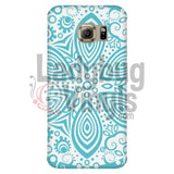Turquoise Mandala Phone Case Galaxy S6 Edge Cases