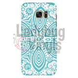 Turquoise Mandala Phone Case Galaxy S7 Cases