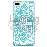 Turquoise Mandala Phone Case Iphone 7 Plus/7S Plus Cases