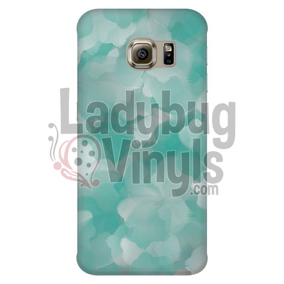 Turquoise Watercolor Phone Case - LadybugVinyls