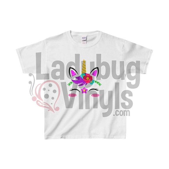Unicorn Kids Heavy Cotton™ Tee - LadybugVinyls